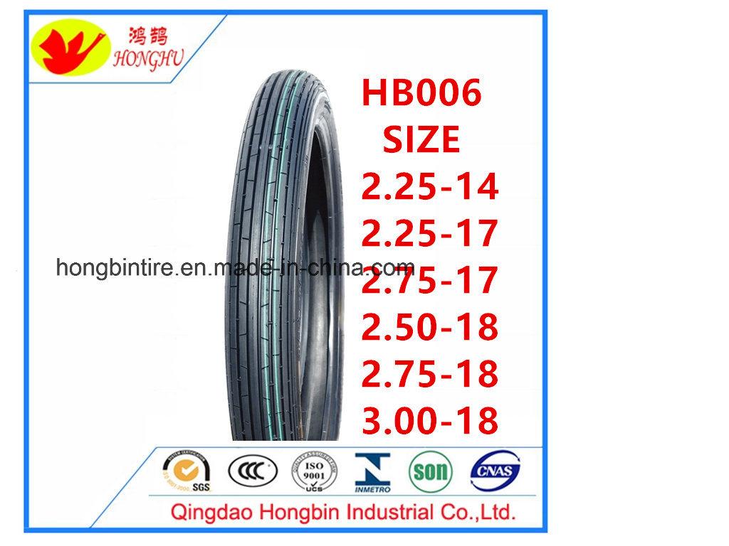 Vente de pneus de moto à chaud en Afrique 2.75-18 /en Amérique du sud du marché