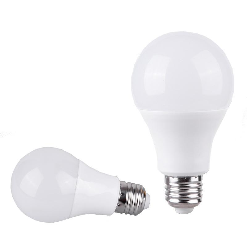 PBT+Al 5W 7W 9W 12W 15W 18W 20W 85-265V Lâmpada LED com E27/B22 Base