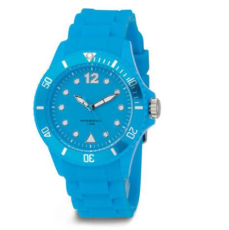 防水カラー環境に優しいケイ素の腕時計