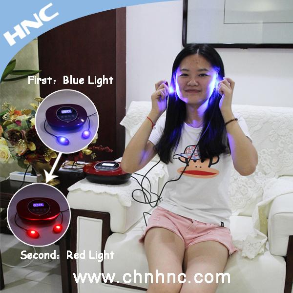 LED-rotes Licht und blaue helle Akne-Behandlung für Haut-Verjüngung