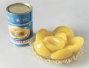 Pêche jaune