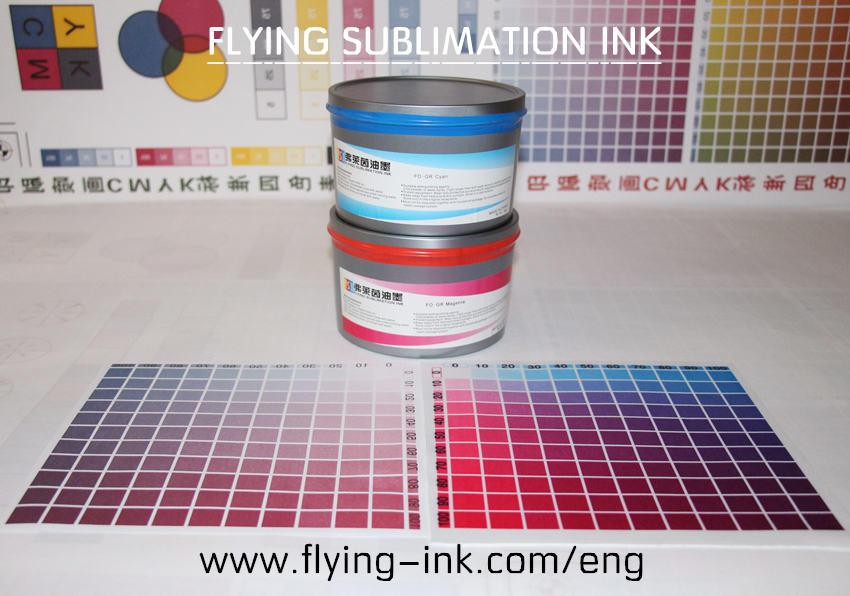 I rifornimenti della massa hanno stampato in offset l'inchiostro di sublimazione dell'inchiostro di scambio di calore (s)