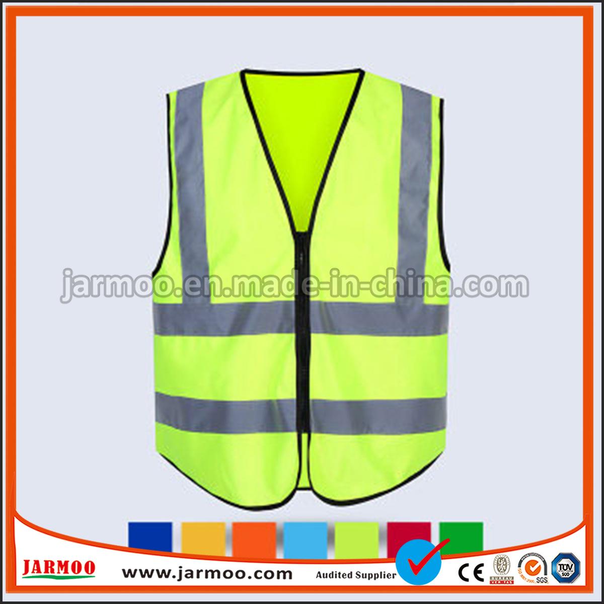 Logotipo personalizado de promoción de la policía de alta visibilidad Chaleco  Chaleco reflectante de seguridad c5a244ebb452