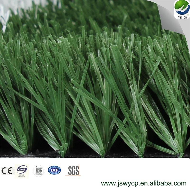 Erba del campo di calcio, SGS, Ce approvato, erba artificiale spessa della prova dell'acqua per il campo di football americano