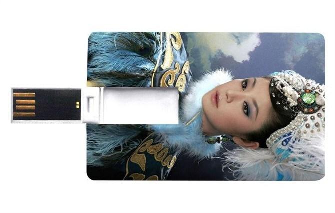 Circular kann alle Arten von Werbung Karte USB tun