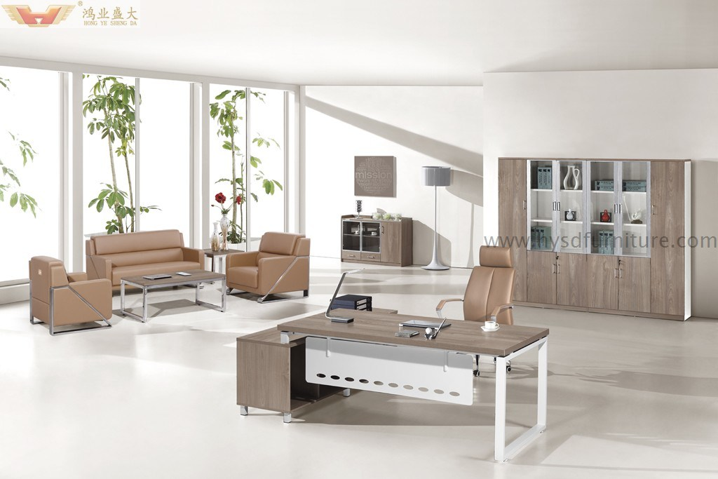 Het moderne zilveren uitvoerende bureau van de luxe van het comité