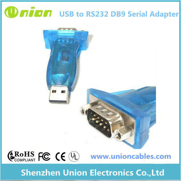 USB Pl2303 a RS232 Serial Db9 Adapter