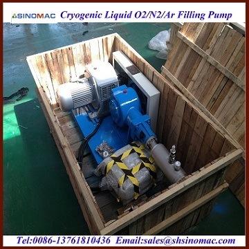 低温学LNG/Lo2/Ln2/Lar/Lco2満ちる交通機関ポンプ