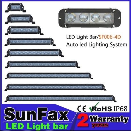 단 하나 줄 LED 가벼운 자동차 운전 빛 LED 표시등 막대