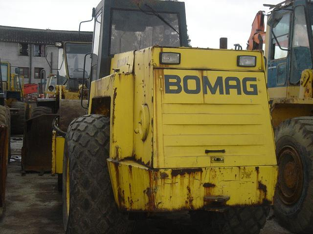 Usada Bomag Rolete de estrada (219)