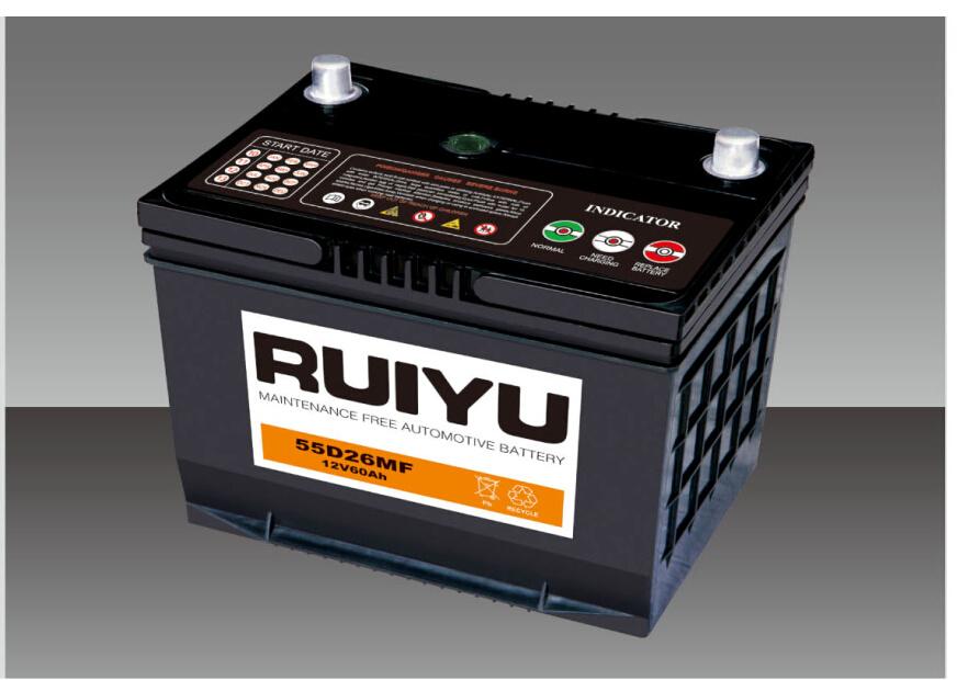 12V 65Ah NS70smfjis batterie de voiture de batterie automatique standard