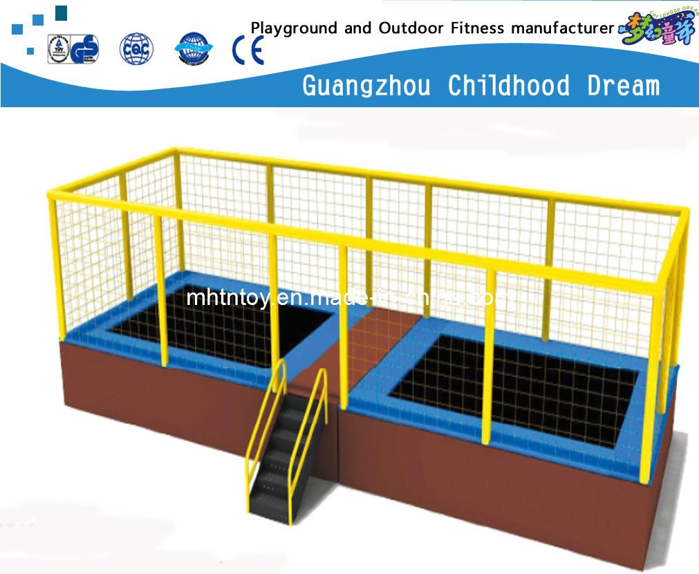 Foto de Rectángulo exterior para niños cama elástica con carcasa (HD ...