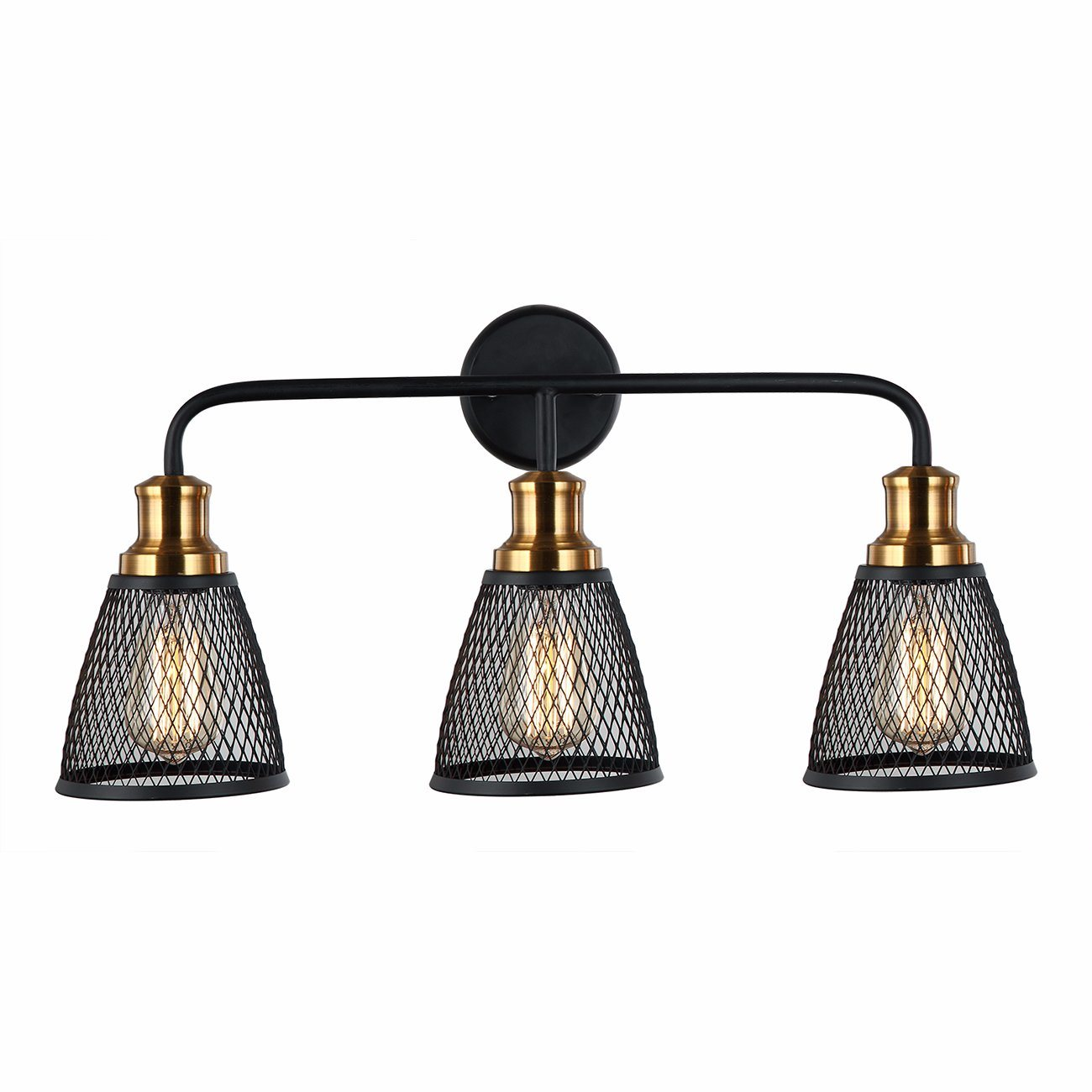 UL горячая продажа настенный светильник в черный