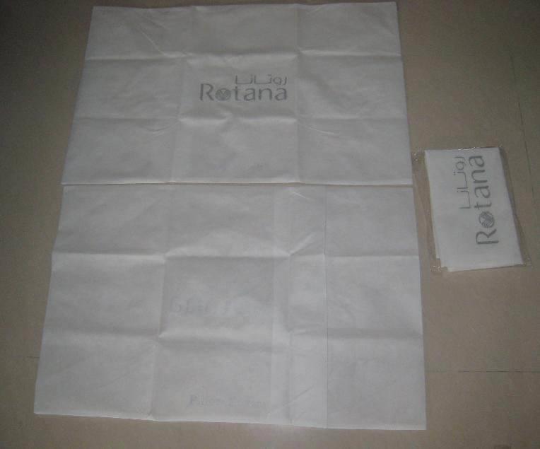 Cubierta de la almohada no tejido (0808)
