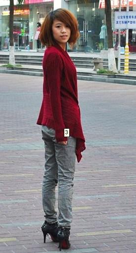7gg Damas Jersey Cashmere Cardigan Jersey estilo largo (YBH-092)
