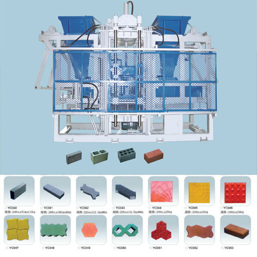 máquina de fabricación de ladrillos de enclavamiento (QT10)