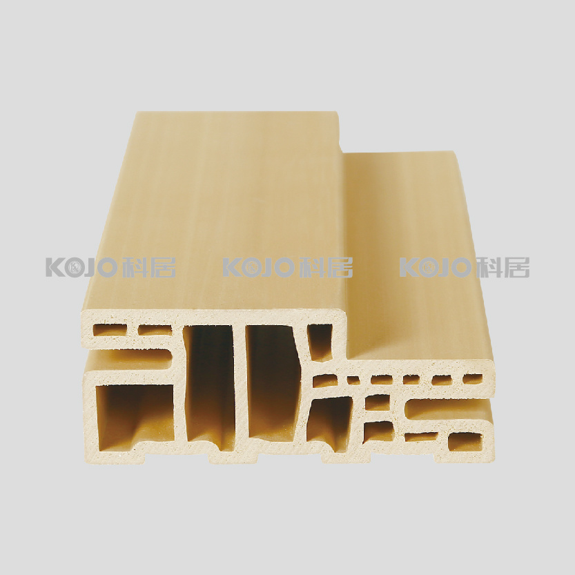 Wood Plastic Composite-WPC Türprofil Türzarge Türrahmen (TVAS-100 ...
