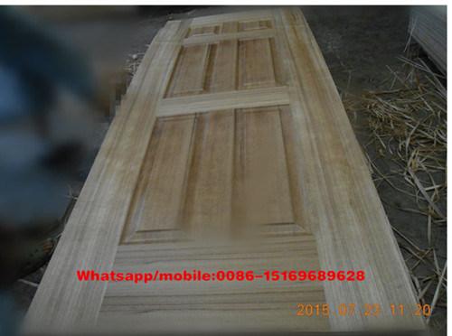 Diante de teca MDF/HDF Pele de porta