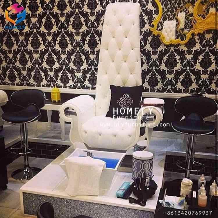 Foto de El rey salón de belleza Manicura Pedicura sillas con Cuenco ...