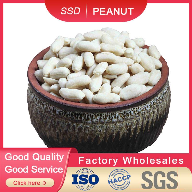 白くされたピーナツカーネル(長い形)リンイーの新しい穀物2019-2020年からの35/39の最もよい品質