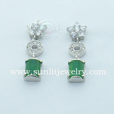 Pendientes de Jade (EB720107RT)