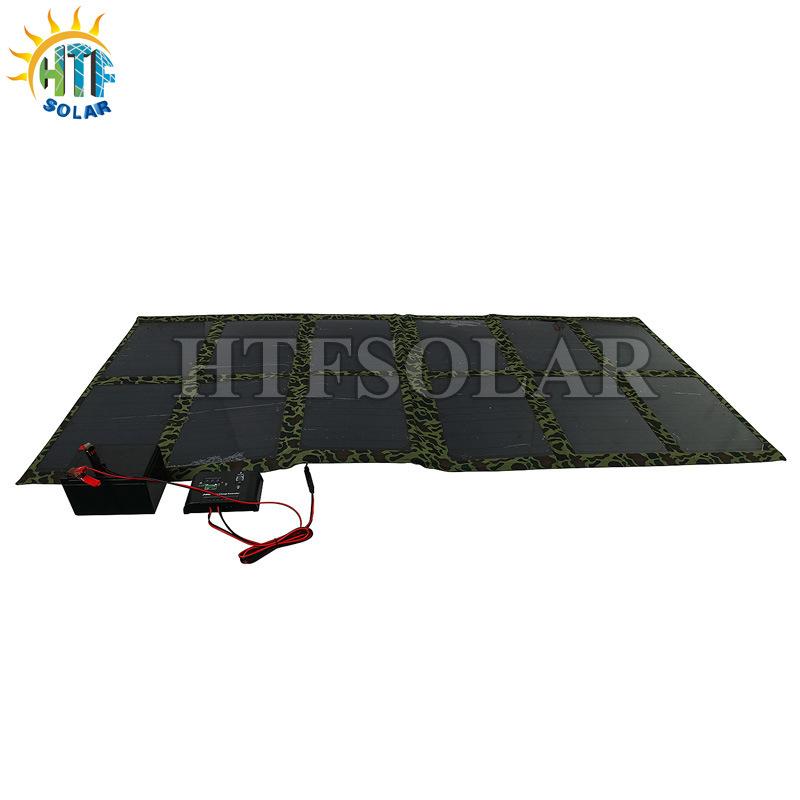携帯電話またはLaptop/12V電池のための太陽電池パネルを折っている120W太陽充電器