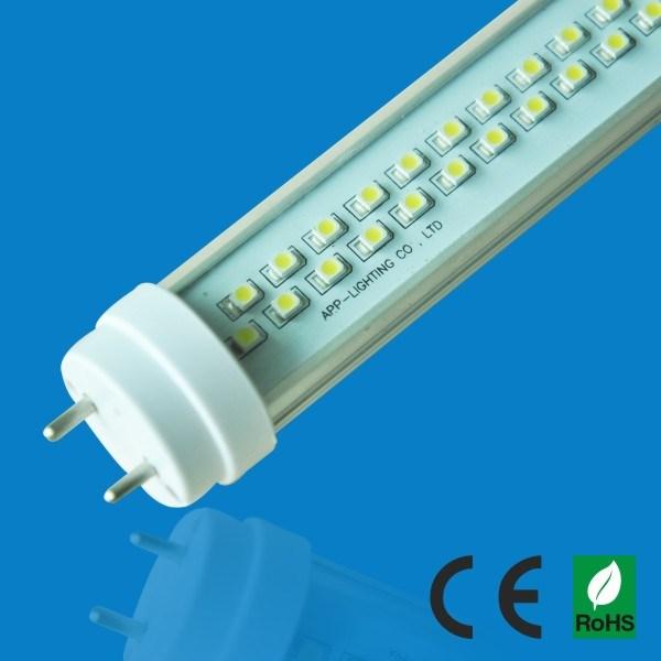 600mm 2ft 9W SMD3528 G13 de rotation tube LED T8