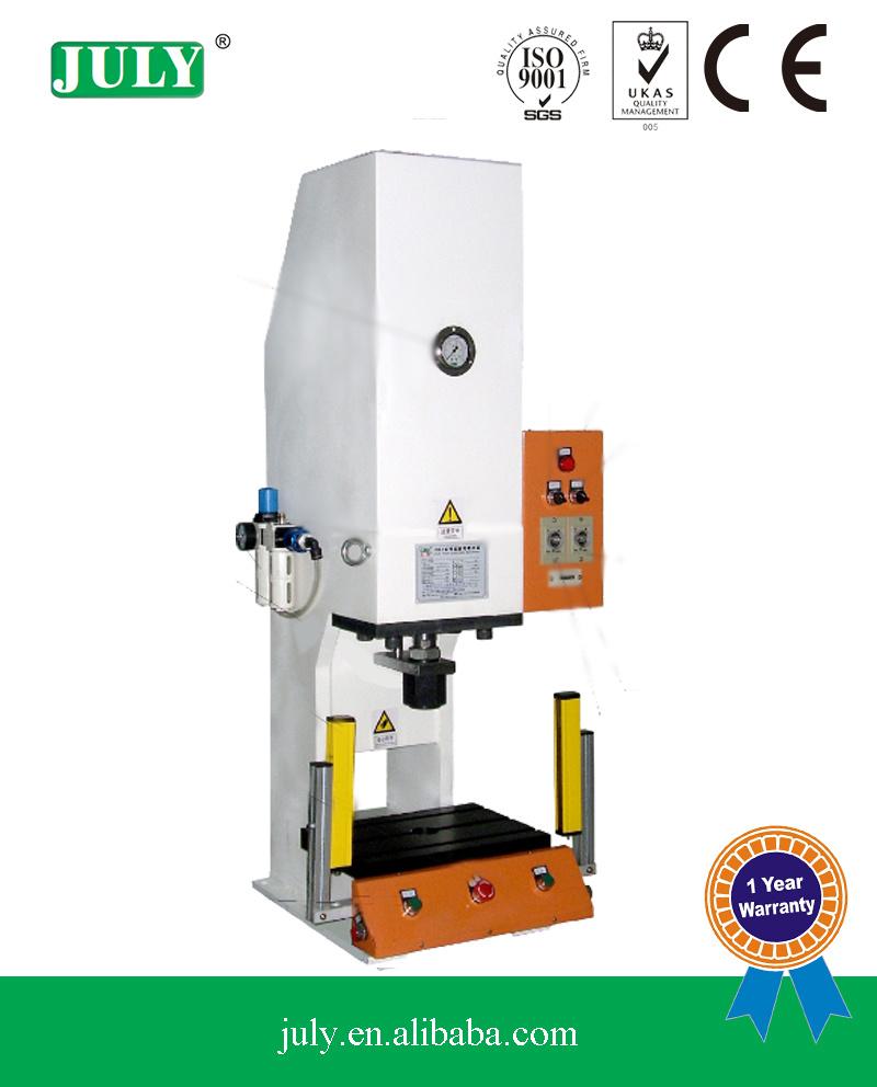 Professional fornecedor de máquinas de Imprensa Julho Pneuamtic hidro C-Quebra da estrutura da máquina de corte (JLYC)