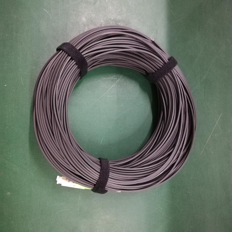 Des Sc/APC Überbrückungsdraht-FTTH im Freien Faser-optisches Kabel-Steckschnür des Transceiverkabel-G657A