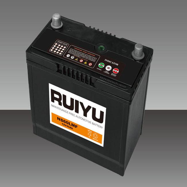 Ns60L MF---46b24L-MF--12V-45ah /JIS/ Autobatterie/ Autobatterien