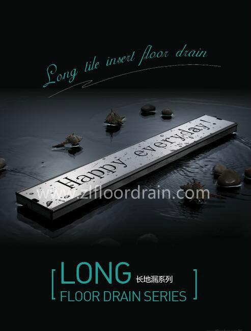 Linearer Fußboden-Abfluss
