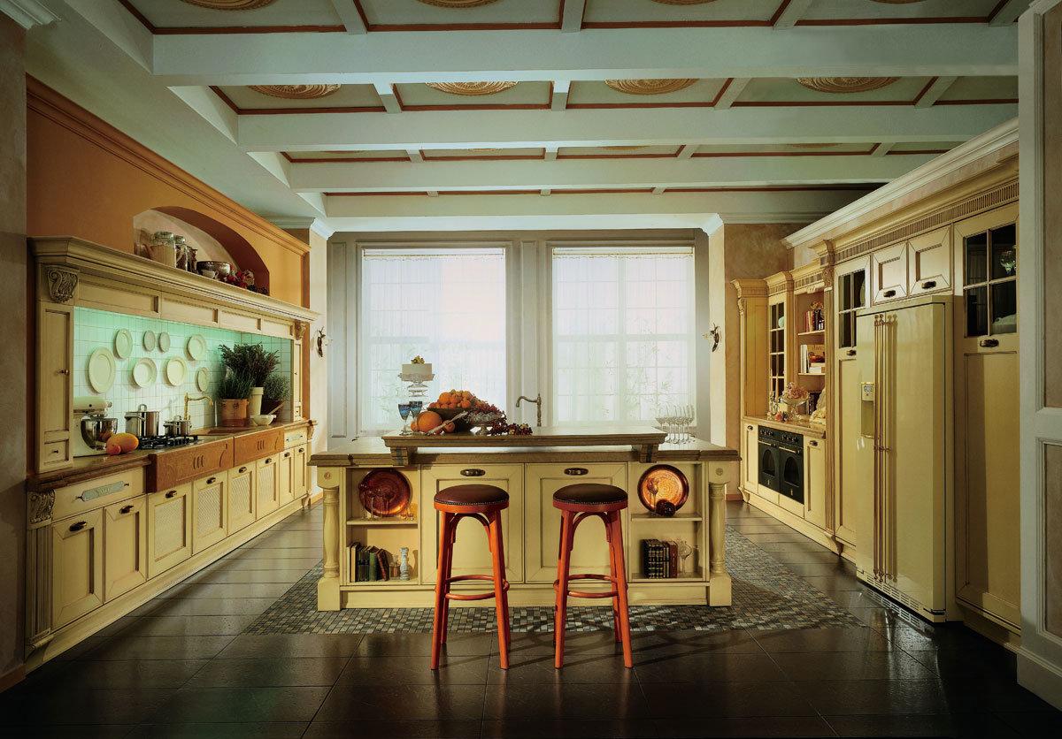 Foto de Mobiliario de casa de madera sólida mueble de cocina ...