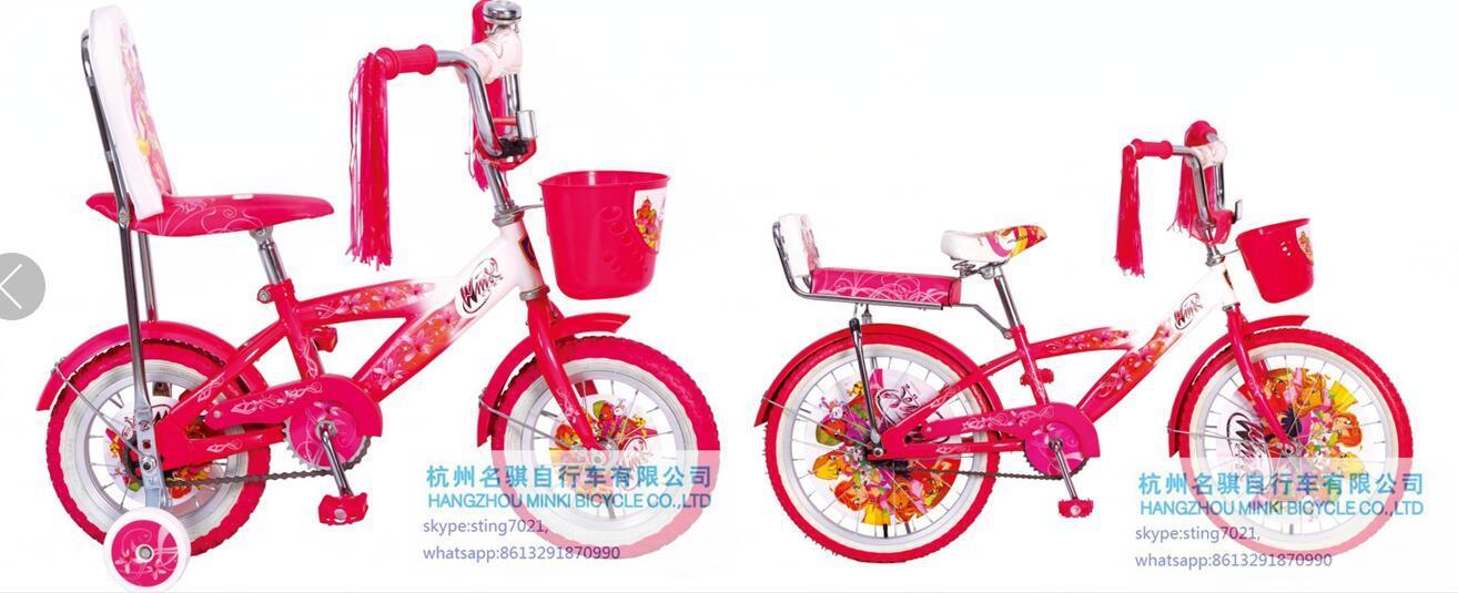 Cina Una Bicicletta Dei 20 Di Winx Delle Ragazze Bambini Della