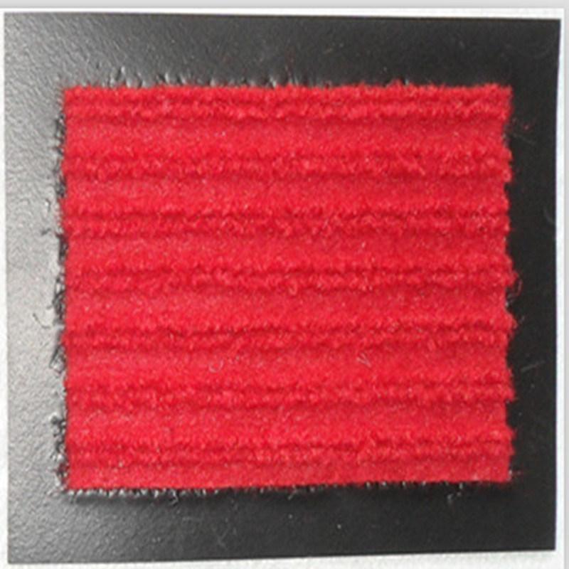 De antislip Mat van de Deur van het Tapijt van de Rib met de Steun van pvc