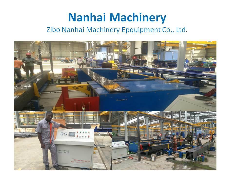 Fabriqué en Chine les tuyaux en acier automatiquement disposées Palletizer ramasseuse-presse