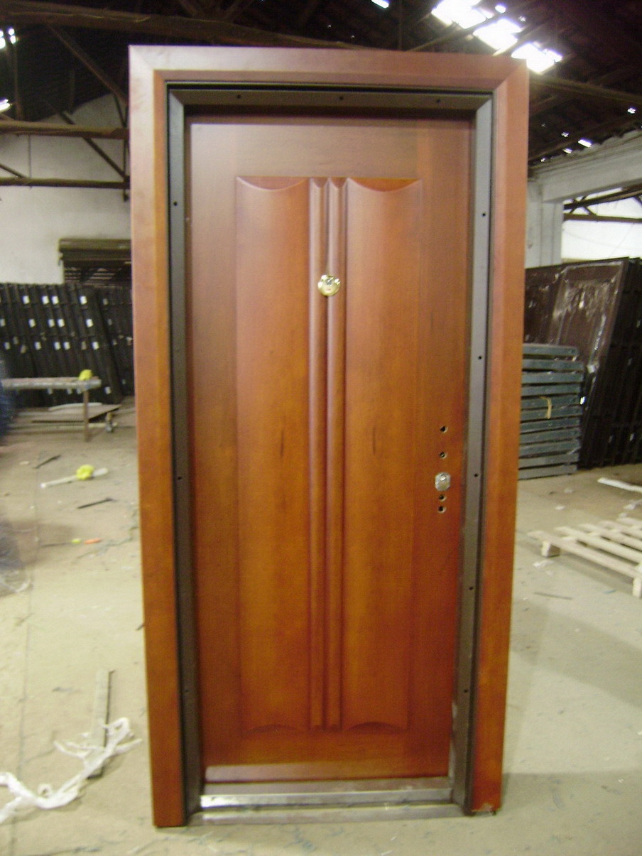 Porta Blindada De Madeira De A 231 O Afol Sw518 Porta