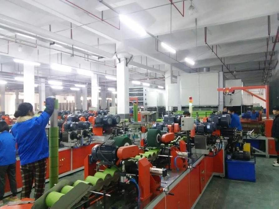 自動POYの管の生産ライン、織物は生産ライン機械の芯を取る