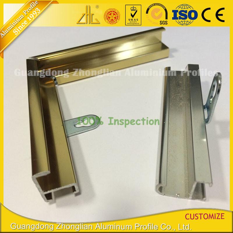 Foto de Extrusión de aluminio extruido personalizada marco para ...