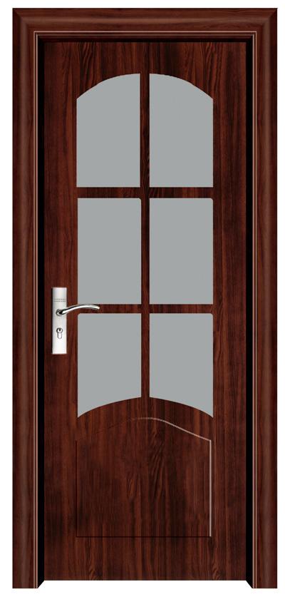 Puertas de madera interior de alta calidad para la for Decoracion de puertas de interior