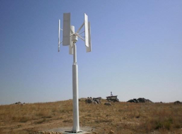 300W 수직은 바람 발전기를 도끼로 벤다