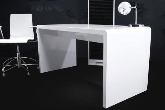 scrivania bianca di lucentezza (YM-26013) – Alta scrivania bianca ...