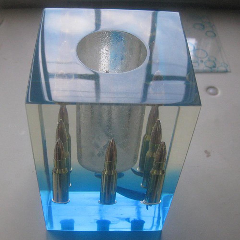 Artesanato Ucraniano Em Curitiba ~ Foto de Display de resina de poliéster acrílico transparente A base redonda de resina acrílica