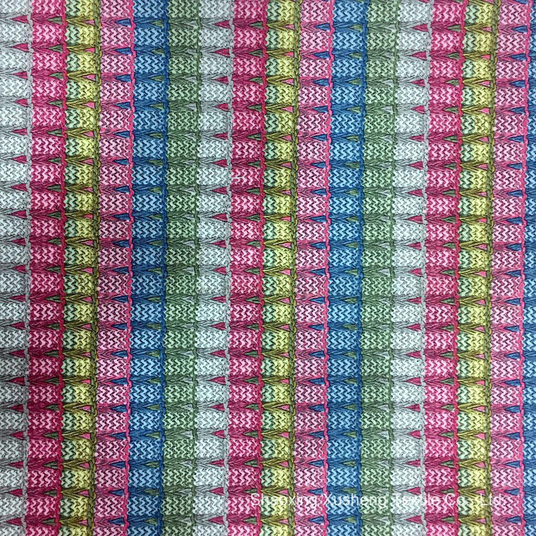 Новый дизайн - 9: Печать из полиэфирного волокна ткани, передача тепла, используется для одежды и домашний текстиль