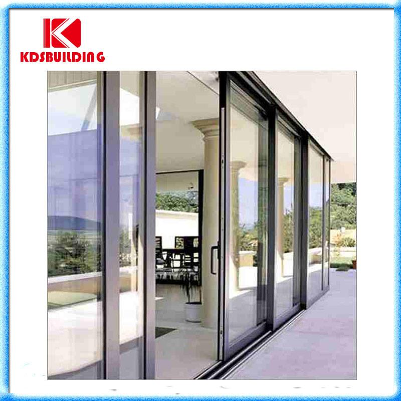 Aluminio comercial puerta corrediza de vidrio kdssd031 - Cerramientos de aluminio precio por metro cuadrado ...