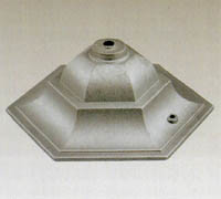 Aluminiumbestandteile für Licht