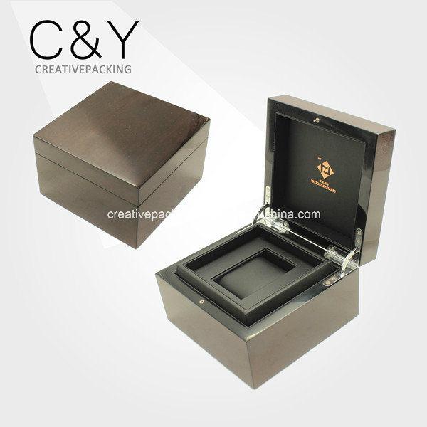 Laca de alto brillo único embalaje Caja de reloj de madera – Laca de ...