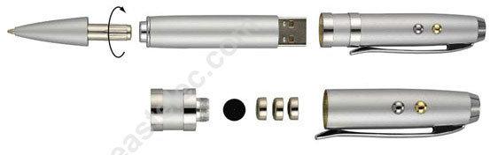 Metalllaser-Feder-Nadelanzeige USB-Laufwerk (UP03)