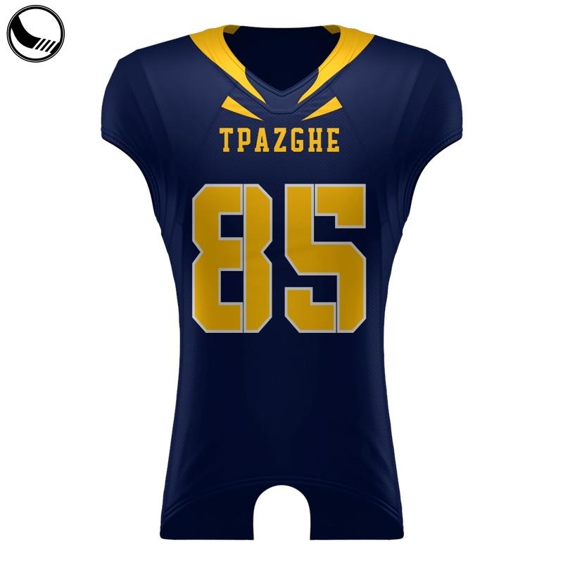 Best College Vintage camisolas de futebol americano personalizado personalizada