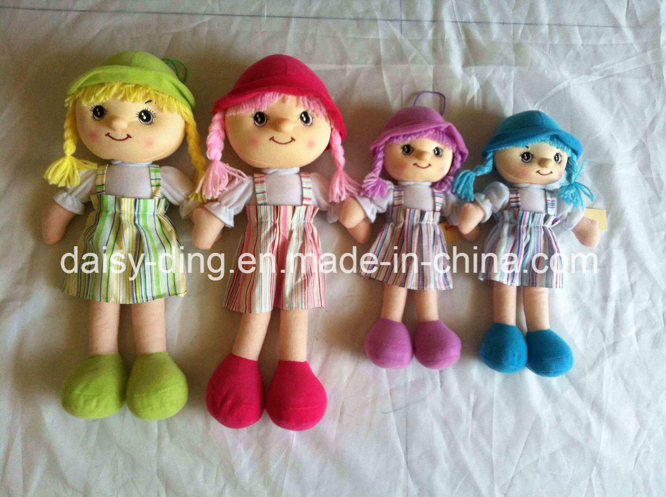 Ткань кукла девочка с юбки