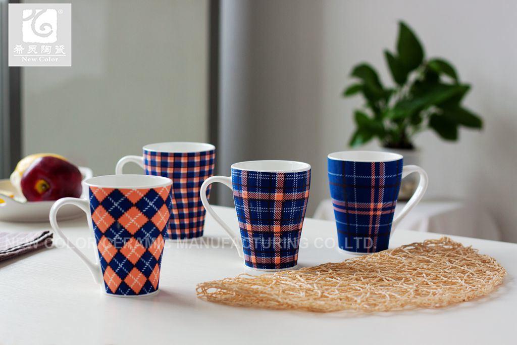 헬스케어 사기그릇 마시는 컵 커피 잔 12oz 10oz 14oz